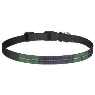 Colliers Pour Animaux Domestiques Tartan d'écossais de plaid de clan de Forbes