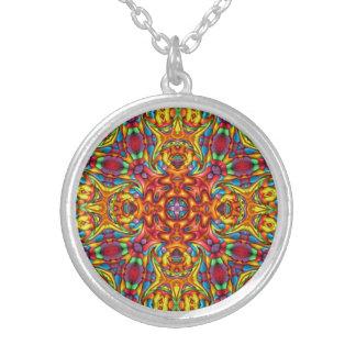 Colliers vintages bizarres de kaléidoscope de Tiki