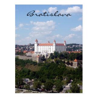 colline de Bratislava de château Cartes Postales