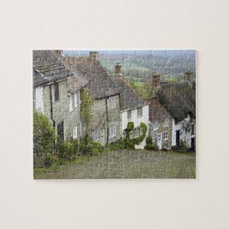 Colline d'or, Shaftesbury, Dorset, Angleterre, uni Puzzle