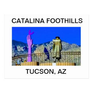 Collines de Catalina, carte postale de Tucson,
