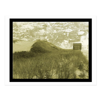 Collines de ce côté-ci, carte postale de Montauk