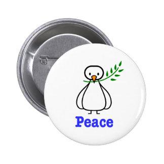 Colombe de paix badges