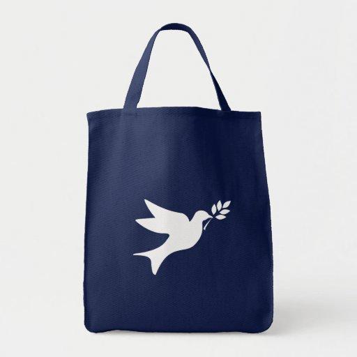 Colombe de paix sacs