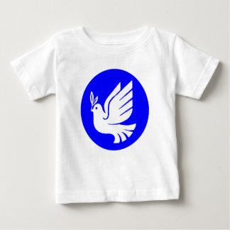 Colombe de paix t-shirt pour bébé