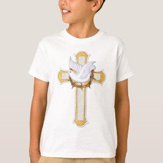Colombe et croix t-shirt
