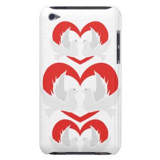 Colombes de paix d'illustration avec le coeur coque Case-Mate iPod touch