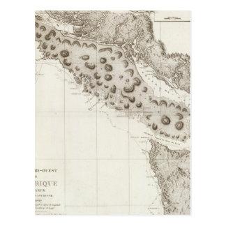 Colombie-Britannique de l'Orégon Washington Carte Postale