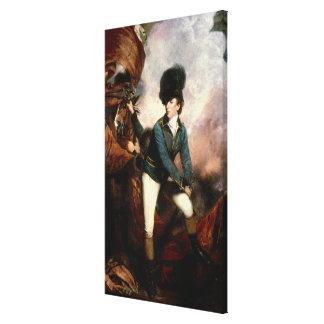 Colonel Banastre Tarleton 1782 Impressions Sur Toile