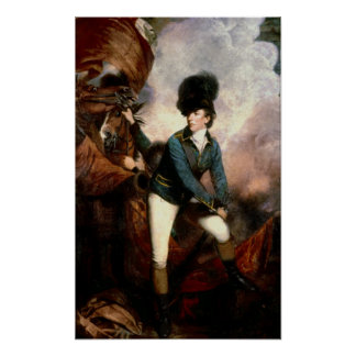 Colonel Banastre Tarleton 1782 Poster