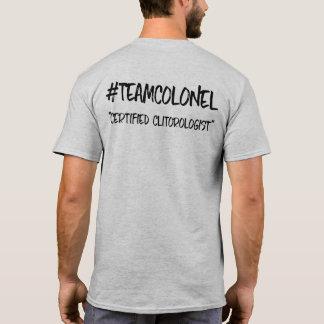 Colonel Certification Tee d'équipe T-shirt