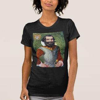 Colonie de capitaine John Smith Jamestown T-shirt