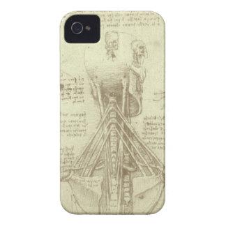 Colonne vertébrale d'anatomie humaine par Leonardo Coques iPhone 4 Case-Mate
