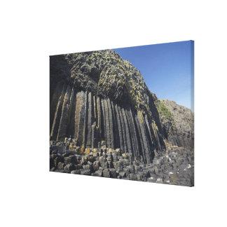 Colonnes de basalte par la caverne de Fingal, Toiles