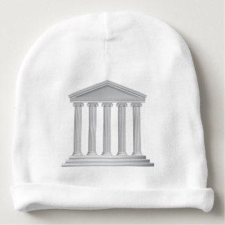 Colonnes grecques ou romaines de temple bonnet de bébé