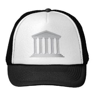 Colonnes grecques ou romaines de temple casquette
