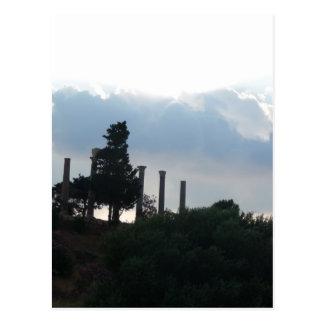 Colonnes romaines dans Byblos Carte Postale