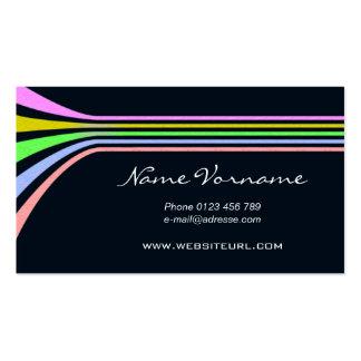color ligne carte de visite standard