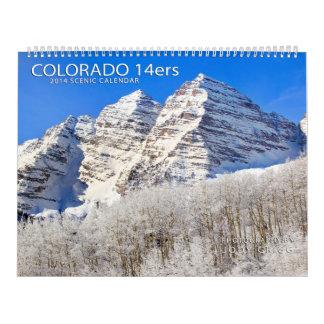 Colorado 14ers 2014 calendrier