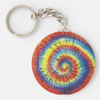 Colorant coloré de cravate porte-clés