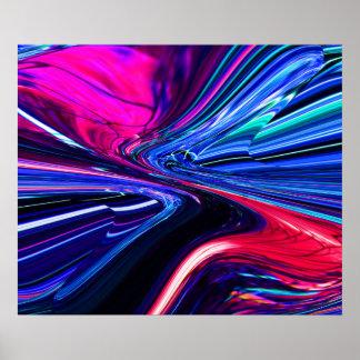 Coloré abstrait poster
