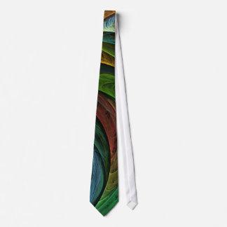 Colorez la cravate d'art abstrait de gloire