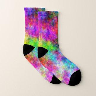 Colorez les petites chaussettes de folie