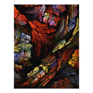 Colorez l'insecte d'art abstrait d'harmonie prospectus 21,6 cm x 24,94 cm