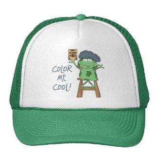 Colorez-moi cadeau frais d'art casquettes de camionneur