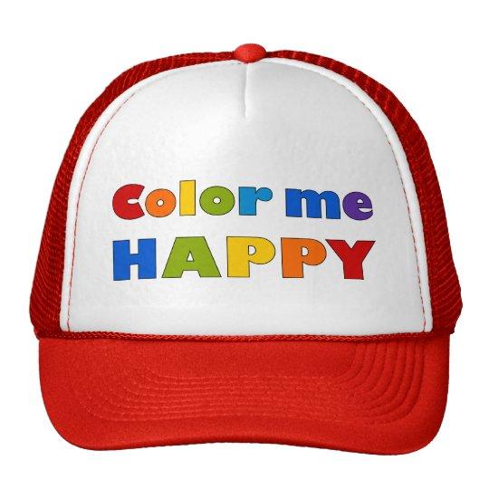 Colorez-moi casquette heureux