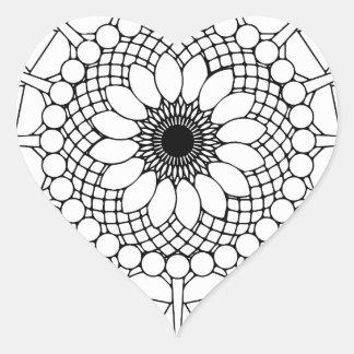 mandala noir blanc autocollants stickers mandala noir blanc. Black Bedroom Furniture Sets. Home Design Ideas