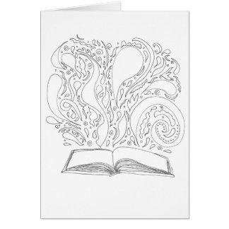 Colorez votre propre carte - livre magique