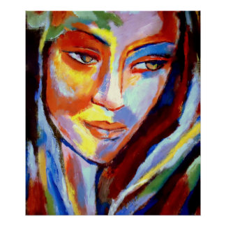 """Colorful Soit décédé Art Prints - «Immersed """" Posters"""