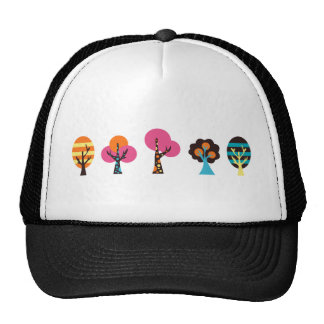 ColorfulTrees2 Casquette