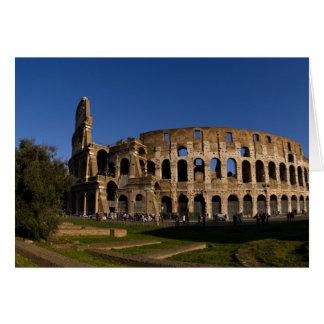 Colosseum célèbre en point de repère 2 de Rome Ita Cartes De Vœux