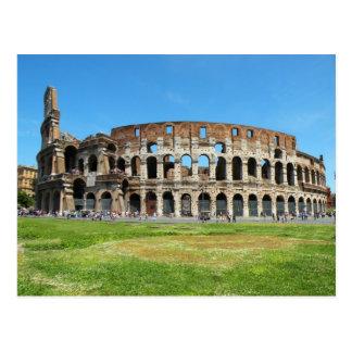 Colosseum romain carte postale