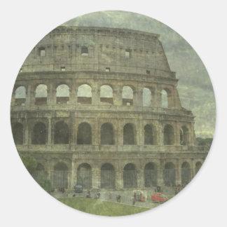Colosseum, Rome Sticker Rond