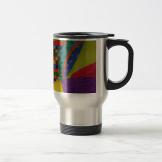 Colour World. Il effiloche de voyage Mug De Voyage