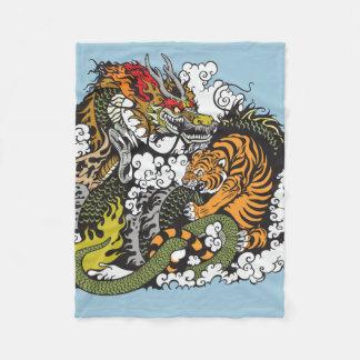 Couvertures dragon - Tigre polaire ...