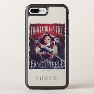 Combat de femme de merveille pour la justice coque OtterBox symmetry iPhone 8 plus/7 plus