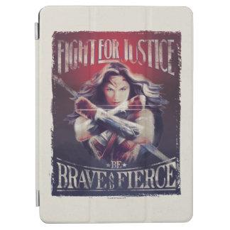 Combat de femme de merveille pour la justice protection iPad air