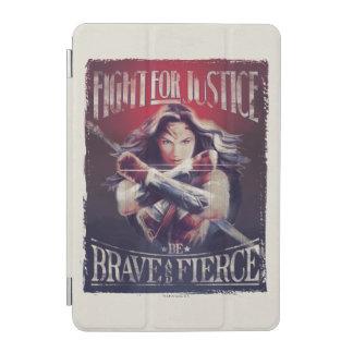 Combat de femme de merveille pour la justice protection iPad mini