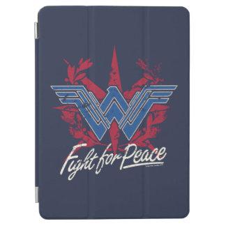 Combat de femme de merveille pour le symbole de protection iPad air