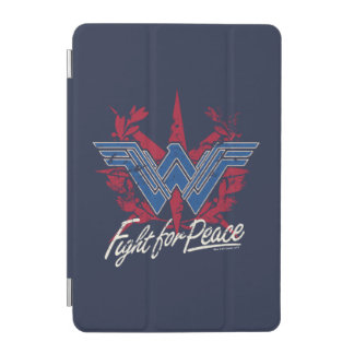 Combat de femme de merveille pour le symbole de protection iPad mini