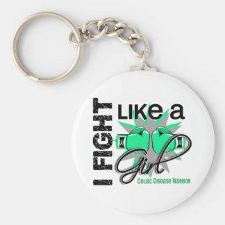Combat de la maladie coeliaque I comme une fille 1 Porte-clef