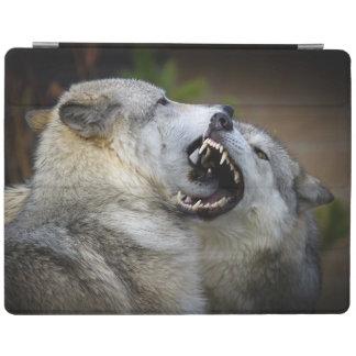Combat de loup protection iPad