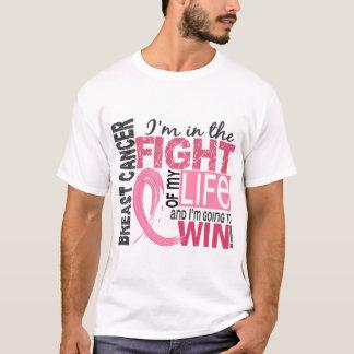 Combat de mon cancer du sein de la vie t-shirt