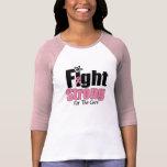 Combat fort pour la chemise de cancer du sein de t-shirts