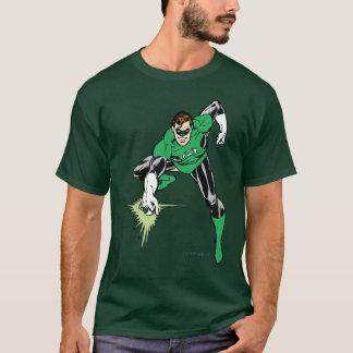 Combat vert de lanterne t-shirt