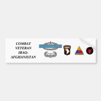 CombatInfBadge2Awd, aab, 1ad, 1mkl, 34ID, COMBA… Autocollant Pour Voiture